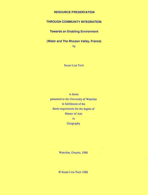 master with thesis